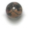 Semi-Precious 6mm Round Rhodonite